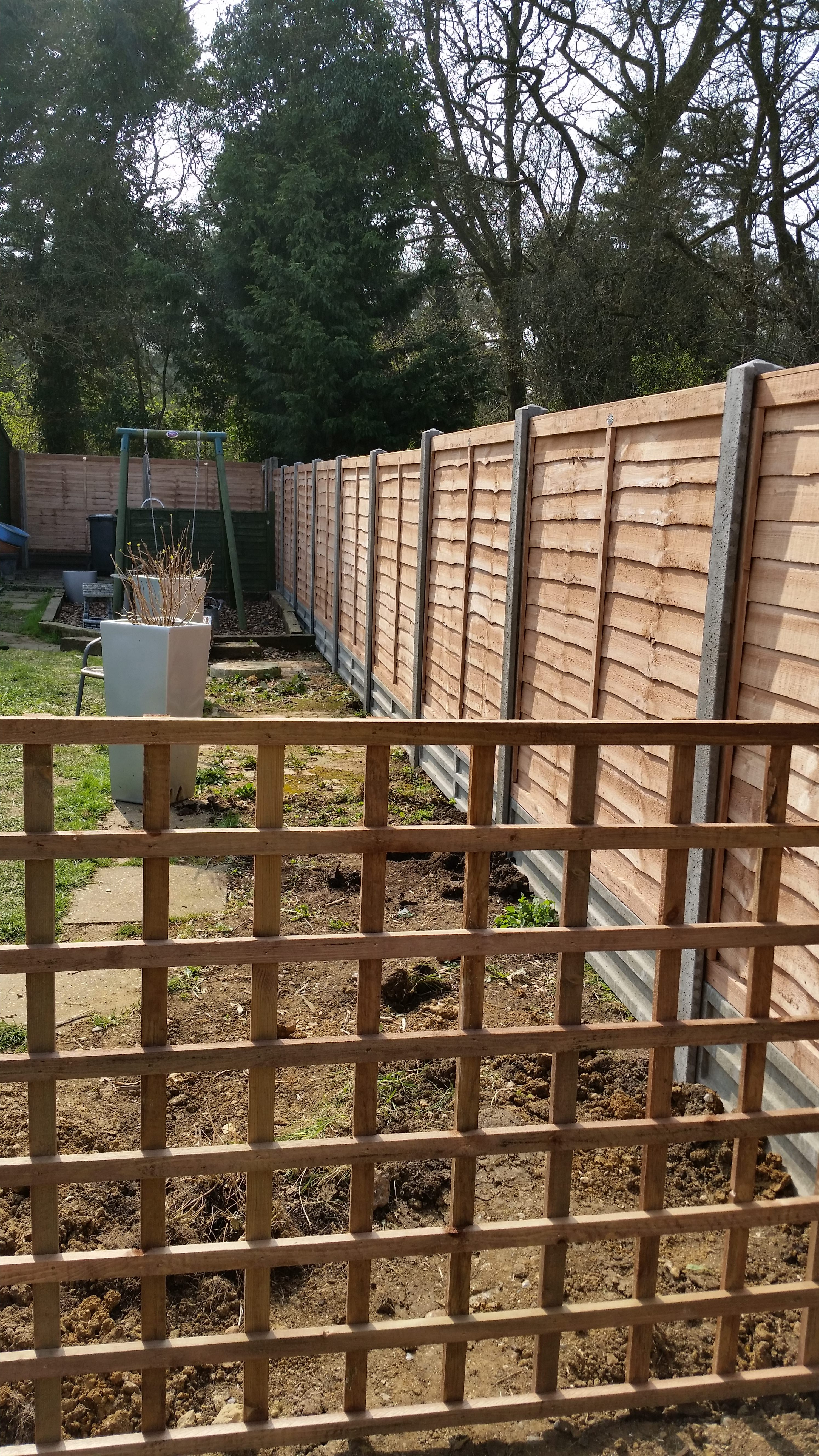 New Fence Long Ley Property Maintenance Essex