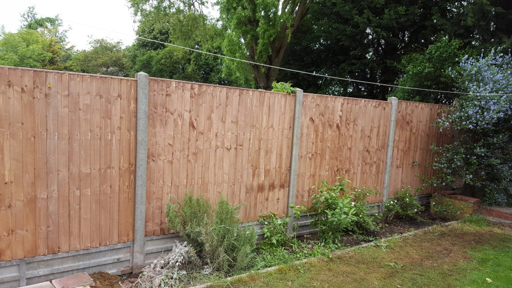 Garden Fence Pottersfield Property Maintenance Essex