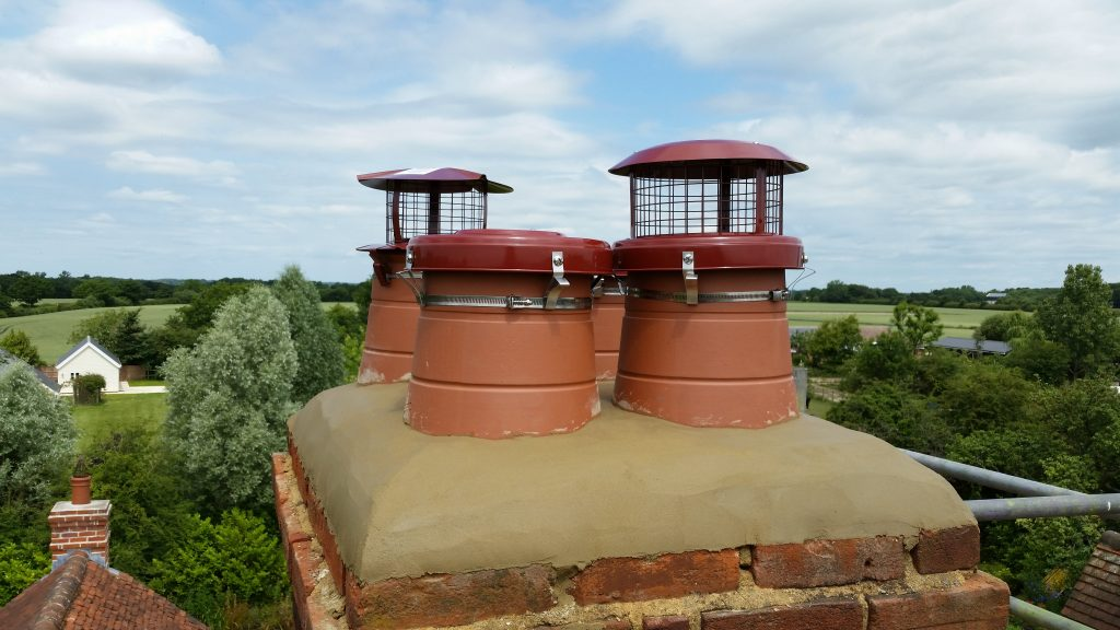 New Chimney Pots Amp Cowls Property Maintenance Essex