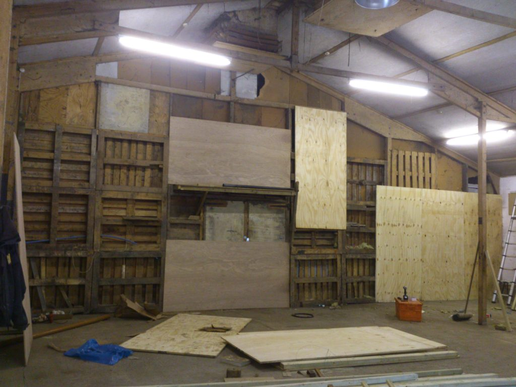 warehouse-dividing-wall-prior-to-being-clad-with-plywood